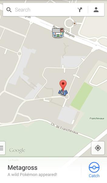 Google Maps: Pokemon Challenge