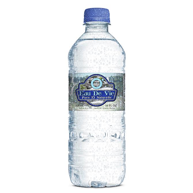 Eau De Vie - Water Bottle Label Design | Rob Scott