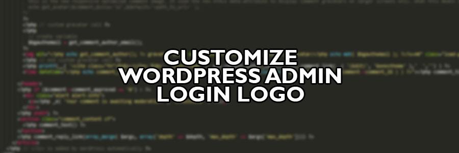 Customize Wordpress Admin Login Logo Rob Scott Llc